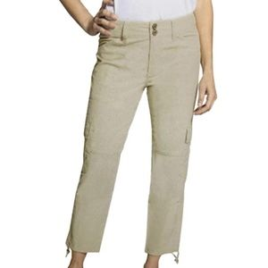 Blossom & Clover Ladies' Cargo Ankle Pants SAND